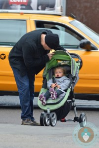 Matt Damon strolls his with daughter Stella in NYC