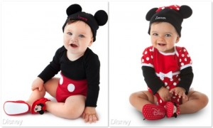 Minnie Mouse Disney Cuddly Bodysuit and Cap Set for Baby