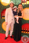 Rachel Zoe with Roger Berman and Skylar Berman at the Veuve Clicquot Polo Classic