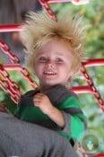 Sammy Schreiber at the playground