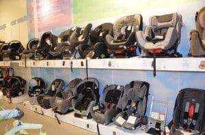 Sears The Baby Room - car seats