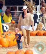 Selma Blair and son Arthur Bleick at Mr