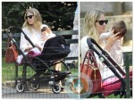 Sienna Miller out with Marlowe Sturridge in Central Park NYC