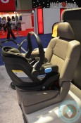 UPPAbaby MESA Infant Car Seat installed