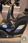 UPPAbaby MESA Infant Car Seat side installed