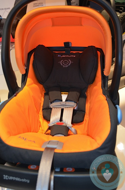 uppababy mesa infant car seat sunflower growing your baby. Black Bedroom Furniture Sets. Home Design Ideas