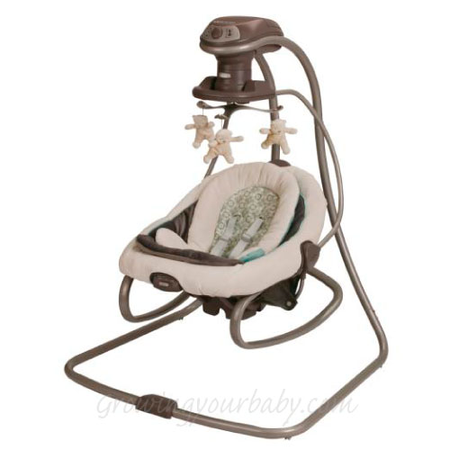 infant swing and bouncer combo 3