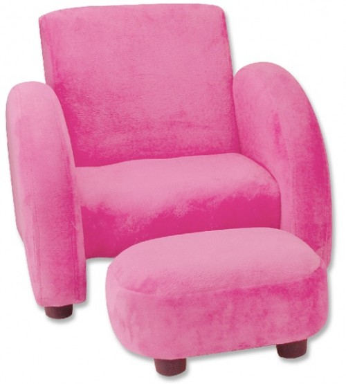 image of recalled Trend Lab Children's Upholstered Chairs - pink