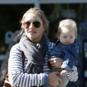 Eric Dane and Rebecca Gayheart Shop With Their Girls!