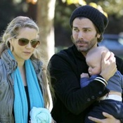 Elizabeth Berkley and Greg Lauren Play At The Park With Baby Sky!