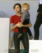 Marion Cotillard Takes Her Son Marcel Canet To Paris Masters