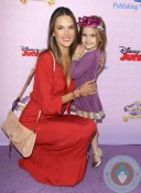 Alessandra Ambrosio and Daughter Anja at SOFIA THE FIRST Disney Channel Premiere