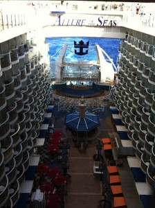 Allure of The Seas - Boardwalk