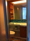 Allure of the Seas - Oceanview Cabin bathroom