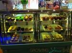 Allure of the Seas - cupcake display