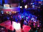 Allure of the Seas  - disco show in the promenade