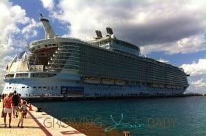 Allure of the Seas in Cozumel