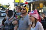 Alyssa Milano and family at Nokia Theatre for 'Yo Gabba Gabba'