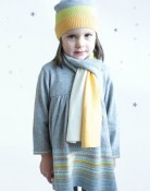 Bonnie Baby Fiona cotton:cashmere dress