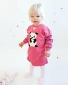 Bonnie Baby Giant Panda cotton:cashmere