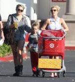 Britney & Jamie Lynn Spears Take Her Boys Shopping At Target