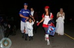 Chris Noth & Tara Lynn Wilson Take Son Orion Noth Trick or Treating