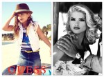 Dannielynn Birkhead and Anna Nicole Smith Guess Ads
