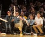 Beckham And Sons At NBA Suns vs Lakers Game