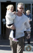 Eric Dane out with daughter Billie Beatrice in LA
