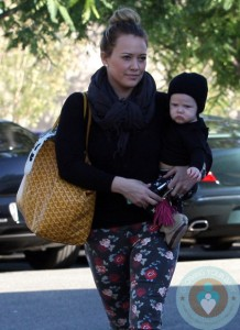 Hilary Duff and Son Luca Shop Bristol Farms