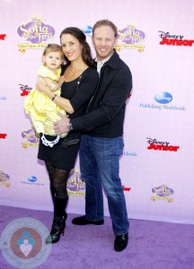 Ian Ziering at the Los Angeles premiere of 'Sofia the First: Once Upon a Princess'