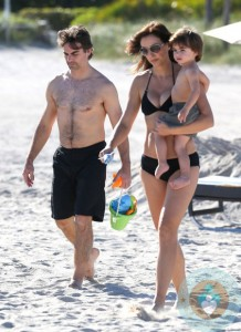 Jeff Gordon and Family Enjoy Miami Beach
