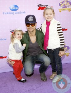 Joey Lawrence at the Los Angeles premiere of 'Sofia the First: Once Upon a Princess'