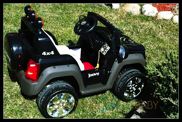 Joovy 4x4 - side view
