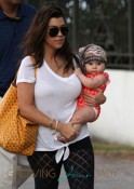 Kourtney Kardashian And Scott Disick Take Their Children Mason And Penelope To the Beach In Miami