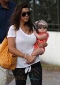 Kourtney Kardashian And Scott Disick Take Their Children Mason And Penelope To the Beach In Miami