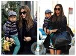 Miranda Kerr with son Flynn Bloom in NYC