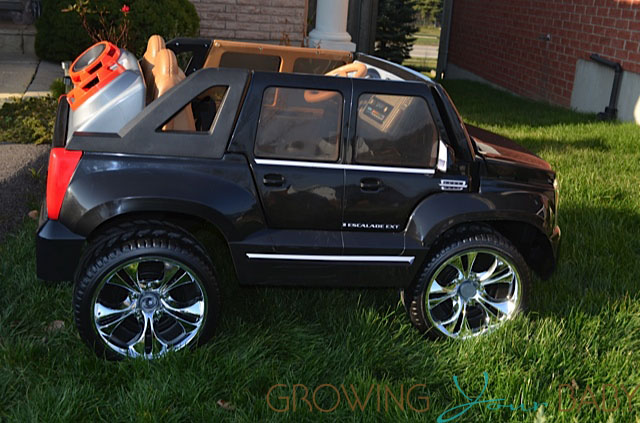 Power Wheels Cadillac Escalade >> Power Wheels Cadillac Escalade Side Growing Your Baby