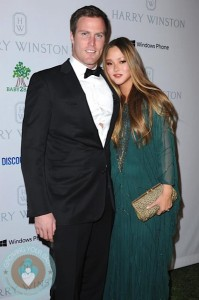 Pregnant Devon Aoki and James Bailey at Baby2Baby event in LA 2012