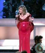 A Very Pregnant Jennifer Nettles 2012 CMA Country Christmas