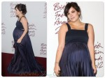 Pregnant Lily Allen on the Red Carpet at the British Fashion Awards 2012