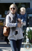 Rebecca Gayheart and her daughter, Georgia shopping at Bristol Farms