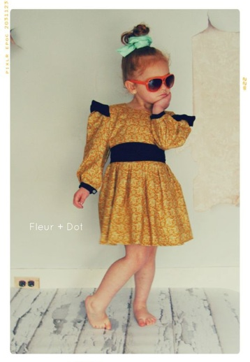 Fleur Dot Vintage Modern Style For Your Little Fashionista