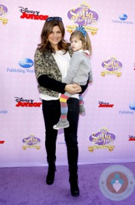 Tiffani Thiessen at the Los Angeles premiere of 'Sofia the First: Once Upon a Princess'