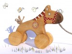 Wooden Kids Toy, eco-friendly toy, Horse
