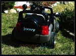 joovy 4x4 - back view