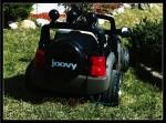 joovy 4x4 - back view