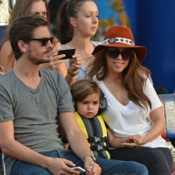 Kourtney Kardashian and Scott Disick Visit The Everglades Safari Park With Son Mason!