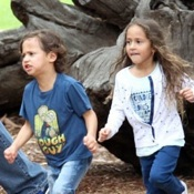 Max & Emme Play At The Park in Australia