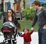 Kourtney Kardashian and Scott Disick Shop in Calabasas With Mason & Penelope